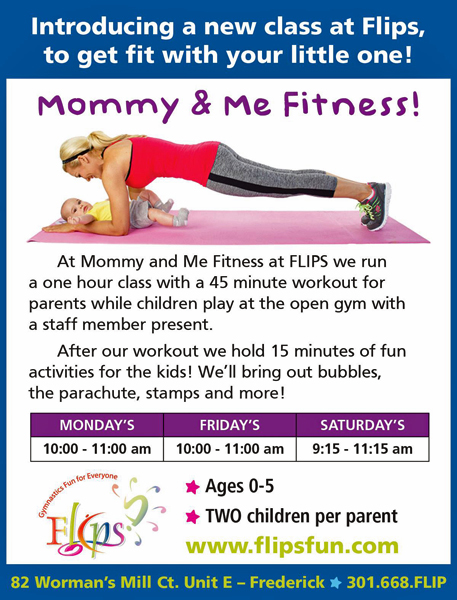 Mommy & Me | Parent & Childre Program | Flips Gymnastics | Frederick MD