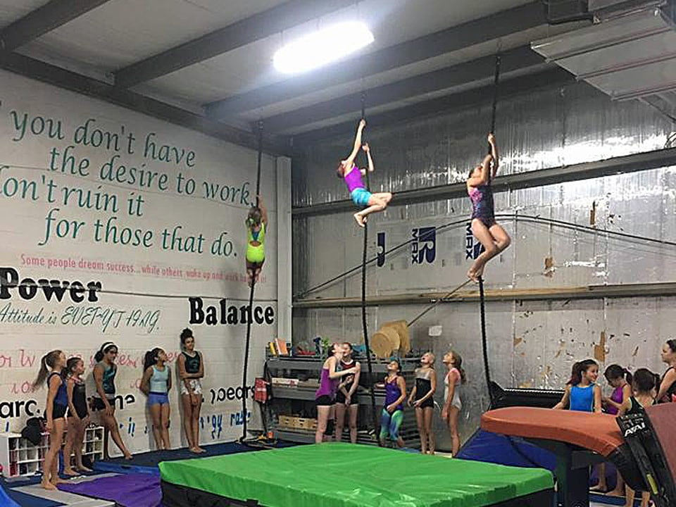 Almost There Gym | Flips Gymnastics | Frederick MD