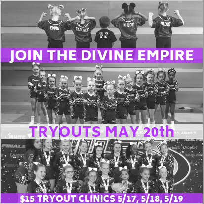 Divine Athletics Tryouts | Flips Gymnastics | Frederick MD